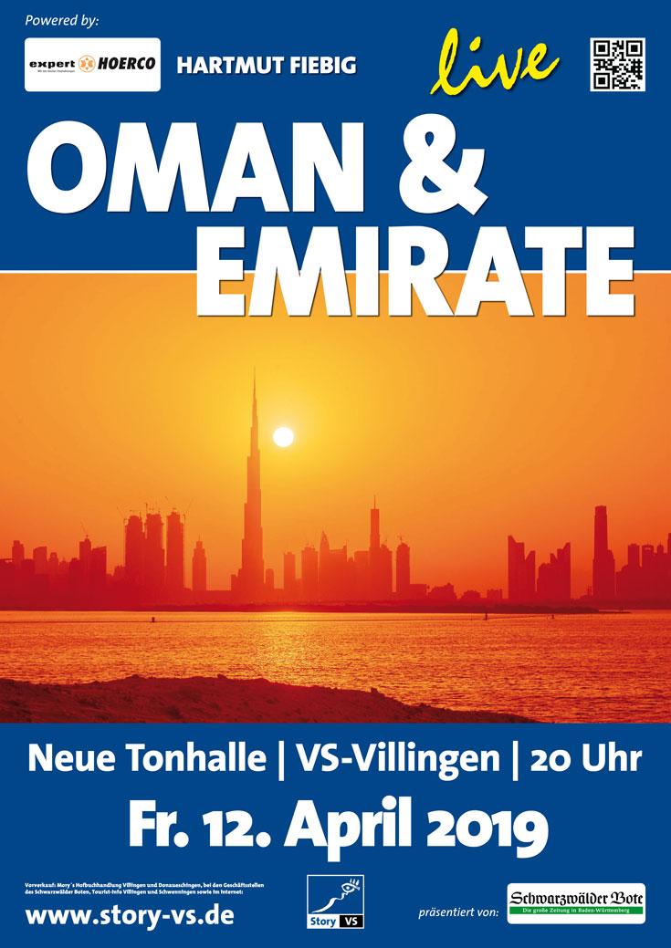 2018_2019 Plakat Oman und Emirate