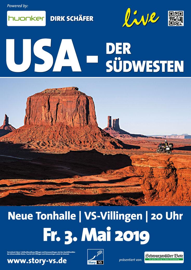 2018_2019 Plakat USA-der Südwesten